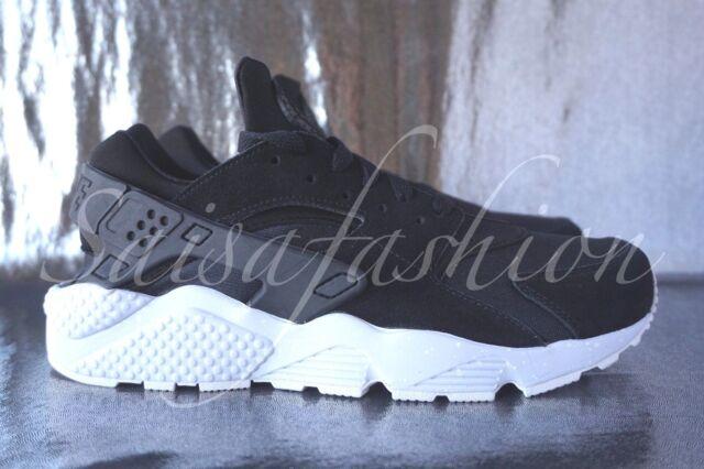 9ad219e1a5d27 Nike Air Huarache Run ID NikeiD Black Men s 777330 983 Sz 8 for sale online