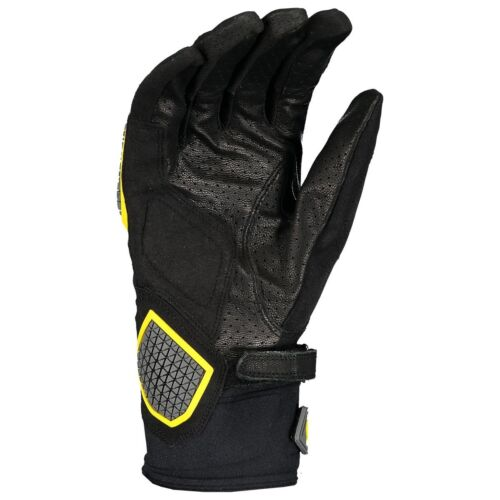 Scott Dualraid Motorrad Handschuhe schwarz//gelb 2019