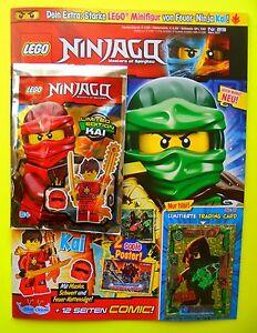 lego ninjago magazin kai maske schwert und le 11 zeitpower acronix trading card ebay. Black Bedroom Furniture Sets. Home Design Ideas