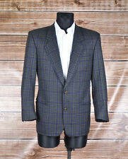 Vintage Hugo Boss Cashmere Wool Men Jacket Blazer Size 46 EUR Small, Genuine