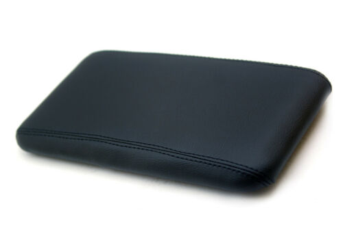 Fits 98-04 Chevrolet Blazer Synthetic Leather Armrest Center Console Cover Black