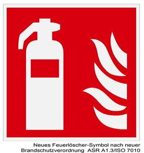 Feuerlöscher-brandmelde-schild-leuchtend-feuer-brand-warnschild-hinweisschild Feuerschutz Sonstige