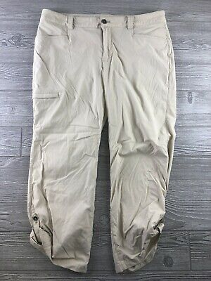 Pantalones Eddie Bauer Charcoal Grey Cargo Wool Lined Pants Size 12 Pantalones Largos Y Capri Ropa Ropa Para Mujer