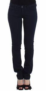 NWT-C-039-N-039-c-Costume-National-Blue-Jeans-Straight-Leg-Denim-Pants-Stretch-W28