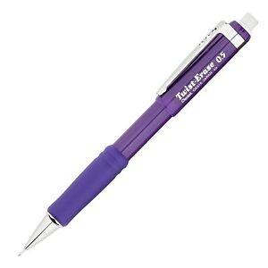 Pentel Twist-Erase III Automatic Pencil 0.5mm Violet (Pentel QE515V) - 1 Each