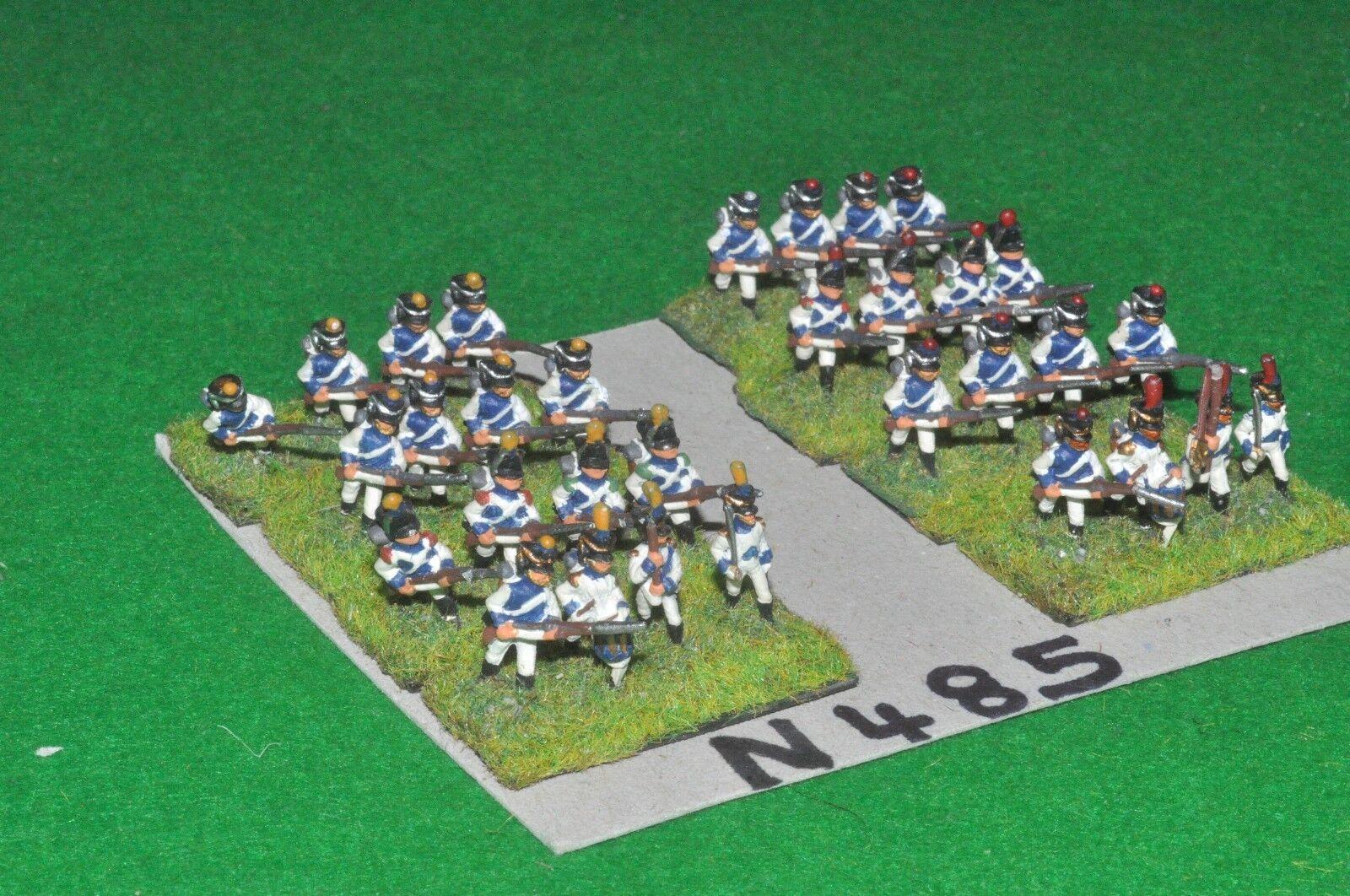 15mm napoleonic   saxon - 32 line infantry - inf (90485)