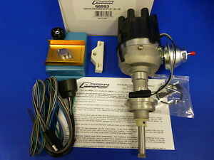 Proform-Electronic-Ignition-Distributor-Kit-Dodge-Mopar-Chrysler-BB-361-383-400