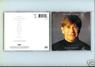 CD ALBUM 11 TITRES ELTON JOHN--MADE IN ENGLAND--1995