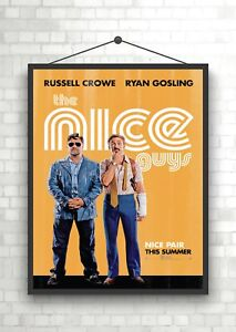 The Nice Guys Classic Movie Poster Art Print A0 A1 A2 A3 A4 Maxi