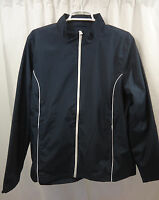 Women's Lands End Athletic Jacket Large