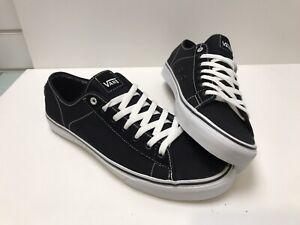 Vans-Ferris-Black-White-Uk12-Trainers-Skate