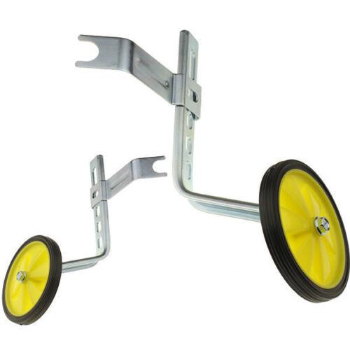 "Adjustable Kids Bicycle Bike Training Wheels Fits 12/"" to 20/"""