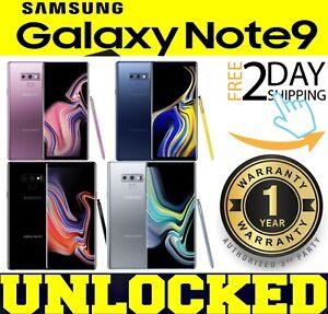 SAMSUNG GALAXY NOTE 9 SM-N960U1 (GSM UNLOCKED) 128GB ║512GB ║ COLORS ❖O/B❖(w)