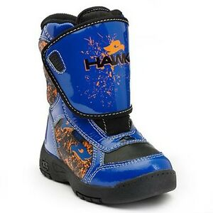 TONY HAWK Thermolite Insulated Waterproof Snow Boots NWT Toddler's Size 10  $60
