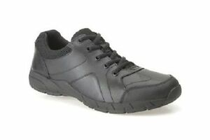 cuero escolares Bootleg G negro con cordones de Zapatos Fit Clarks para 'air Norfolk' niños 6xn8wR