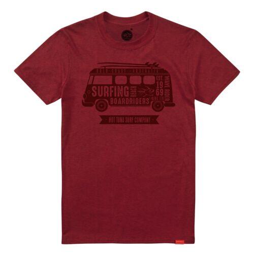 S,M,XL Camper Red Hot Tuna Mens T-Shirt