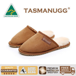 b7a65f6ee4d Details about Tasman UGG- Slippers/Scuffs, Australian Made, Premium Aus  Sheepskin,Unisex,Ches