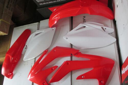 RACE TECH HONDA PLASTIC KIT CRF250R CRF250 2006 2007 2008  09 SHROUDS  FENDERS