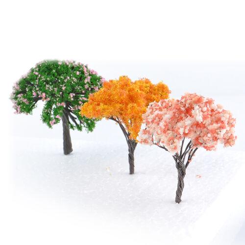 3x Mini Arbre Miniature De Poupées Maison Jardin Accessoire Plante Fairy Ornement À faire soi-même