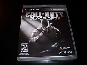 Tidsmæssigt Replacement Case (NO GAME) CALL OF DUTY BLACK OPS II 2 PLAYSTATION OT-82