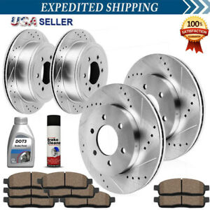 2008 2009 Chevy Cobalt Rotors Ceramic Pads F See Desc. OE Replacement