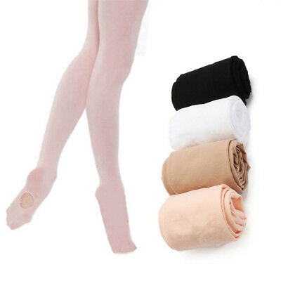 Convertible Dance Tights Stocking Girls Footed Socks Ballet Pantyhose Flow DD