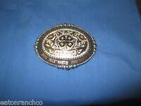 Mortenson Ruby Custom Rodeo Trophy Belt Buckle 4h Awards Custom 4 You