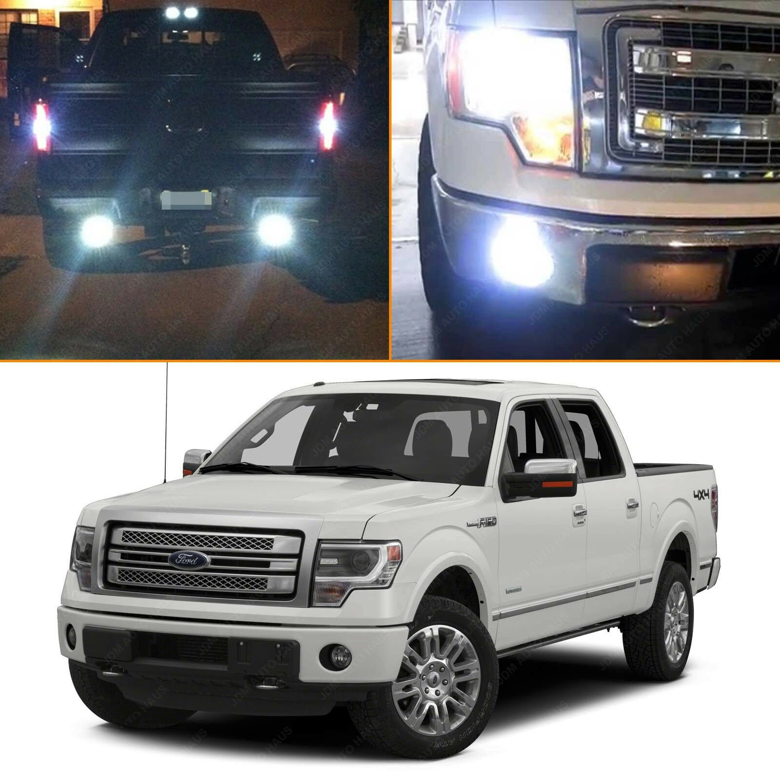 2009 Ford Expedition Exterior: 17x White LED Interior & Exterior Light Package Kit 2009