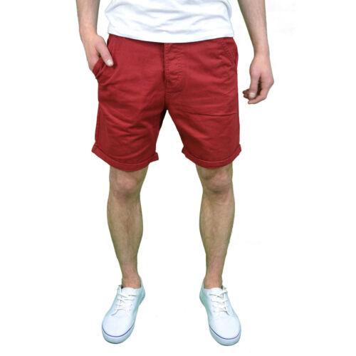 Bnwt Soulstar Uomo con logo di marca Smart Casual Estate Pantaloni Corti Chino