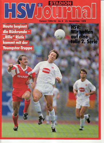BL 89/90 Hamburger SV - - - Fortuna, Düsseldorf 0ffe30