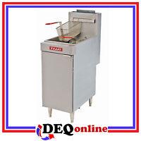 Vulcan Lg400 Free Standing Economy Gas Fryers 45 Lb Capacity Choose Ng Or Lp