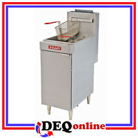 Vulcan Lg500 Free Standing Economy Gas Fryers 65 Lb Capacity (natural Or Lp)