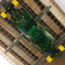 New Santa Cruz Drop Thru Weed Goddess Cruzer Complete Skateboard 40in x 10in