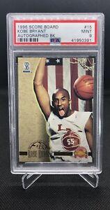 1996-Score-Board-Rookie-Kobe-Bryant-Autographed-BK-PSA-9-LAKERS-HOF-RC