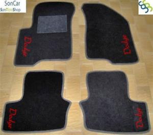 4 decori 4 block DODGE CALIBER TAPPETI tappetini AUTO