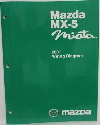 2001 Mazda MX-5 Miata Electrical Wiring Diagram | eBay