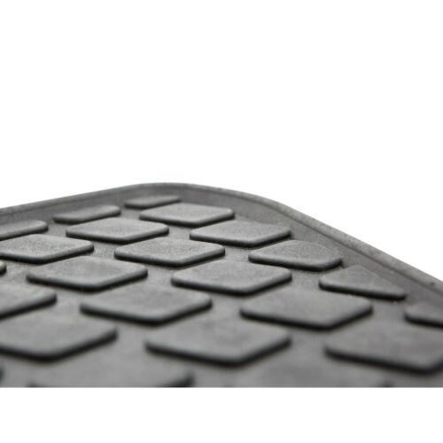 Premium Gummimatten Fußmatten Komplettset für Audi A5 2007-2015