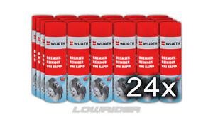 24x Bremsenreiniger 500ml Spraydose | Entfetter | Reiniger |Sprühreiniger