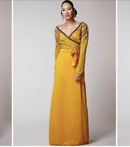 Virgos Occassion Prom Lounge Embellished 12 Rrp Wedding Maxi Dress Bnwt ZqRvxwfZ