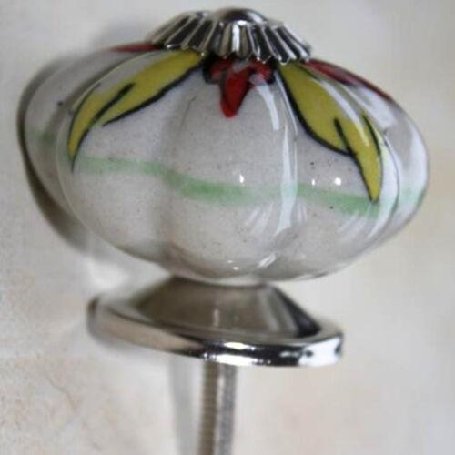 Möbelknopf Möbelgriff Möbelknöpfe Keramik Möbelknäufe XL Knauf  Griff 47 Silber