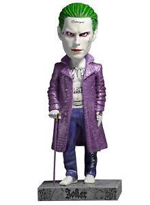 Le Joker Statua Resina 20cm Heurtoir Tête Statue Suicide Squad Originale Neca