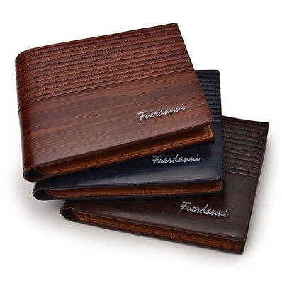 Branded Fuerdanni Stylish Leather bi-fold Wallet for Men