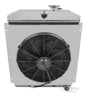 SHROUD FANS 3 ROW FOR CHEVY// GMC C//K SERIES PICKUP TRUCK Aluminum RADIATOR
