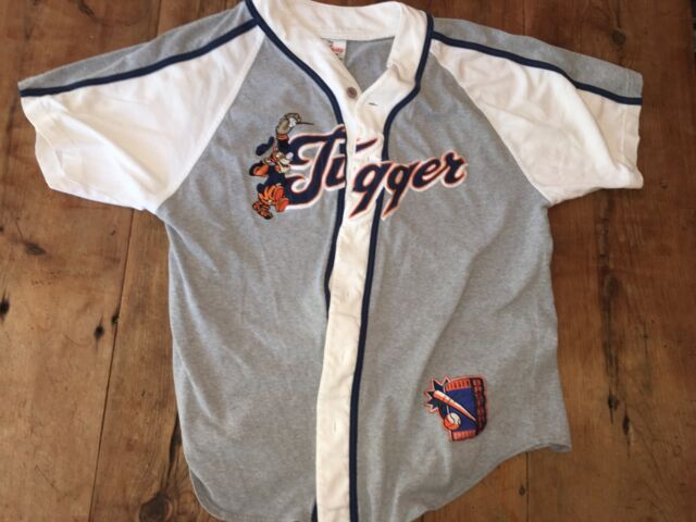 Men's Disney Store Baseball Shirt Jersey Featuring Tigger Size Small
