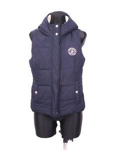 Abercrombie-Fitch-Womens-Vest-Warmed-Hood-M