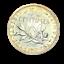 3954-RARE-50-centimes-1917-Semeuse-en-Argent-SPL-FDC-FACTURE miniature 1