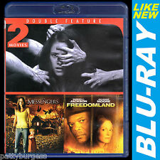 Horror/Thriller Double Feature: (Blu-ray) The Messengers/Freedomland