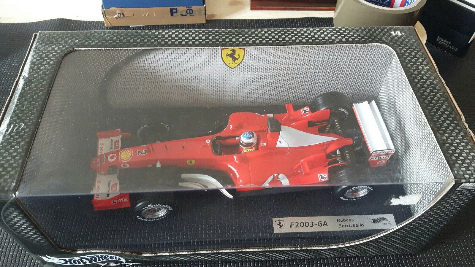 F1 Ferrari F 2003 GA  R. Barrichello 1 18