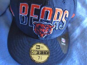 new style 5659c 62127 Image is loading CHICAGO-BEARS-NFL-BASEBALL-CAP-NEW-ERA-59FIFTY-