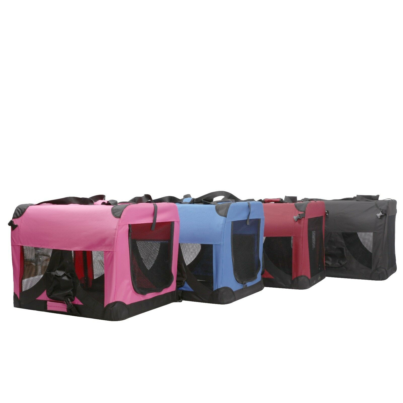 Heavy Duty Portable House : Heavy duty cat dog pet portable crates cage house kennels